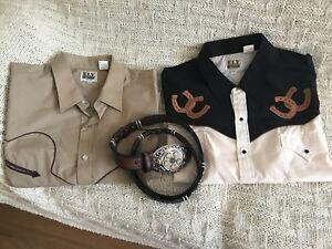 Chemises western Homme Ely Cattleman XXL