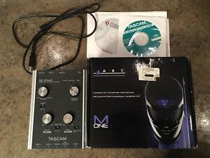 Tascam interface with art condenser mic
