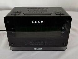 Sony Dream Machine Digital Clock Radio AM/FM Dual Alarm ICF-C414