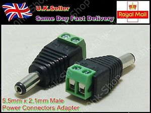 5-5mm-X-2-1mm-DC-Power-Male-Jack-Connector-Cable-Adapter-Plug-CCTV-LED-Strip