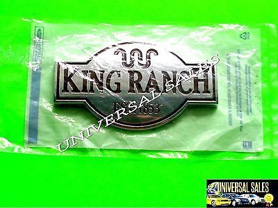 (KING RANCH FORD EXPEDITION EMBLEM BADGE TAILGATE REAR DOOR 2005-2011 NEW IN BAG)