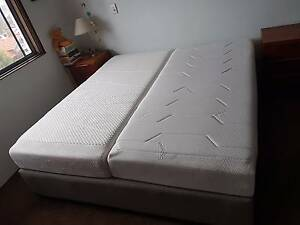 3 month old Tempur King SIze Bed with Drawers Bondi Eastern Suburbs Preview