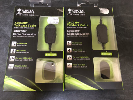 2x Turtle Beach Headset Talkback/Chat Cables Middle Park Port Phillip Preview