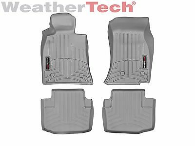 WeatherTech FloorLiner Mats for Cadillac CTS/CTS-V Sedan - 1st/2nd Row - Grey