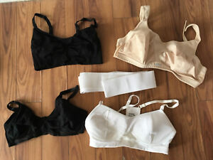 Medium and Large Maternity Bras