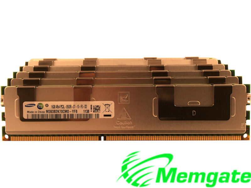 64GB (4 x16GB) Memory For Dell PowerEdge R520 R5500 R610 R620 R710 R715