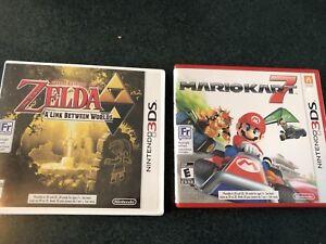 Mario Kart 7 et Zelda