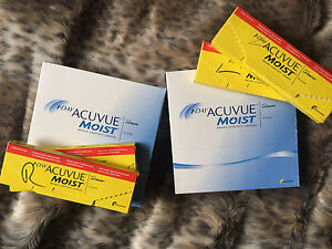 1-Day Acuvue Moist Contact lenses - Brand New