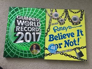 2017- Guinness world records and Ripleys Believe it or not