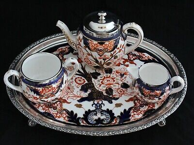 Square Doilies Teapot Set Flowers Tea for One Teapot with Cup Plate