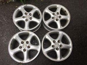 """16"""" OEM Mazda Alloy Rims"""