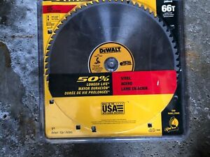 Dewalt Metal Chop Saw blade new