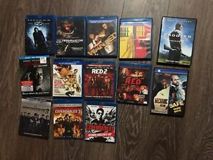 Movies to sell, blue Ray and DVD
