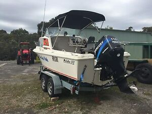 very solid fishing boat Nyora South Gippsland Preview