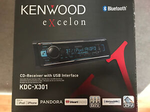 Kenwood Excelon Bluetooth CD Receiver with USB
