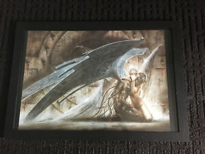 """Fallen Angel"" framed poster"