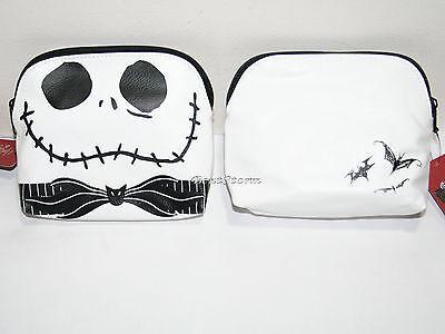 Disney Nightmare Before Christmas 3D Jack Bat Bow Makeup Cosmetic Bag Purse - Bat Makeup
