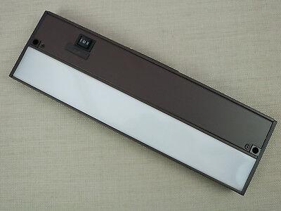 Under Cabinet LED Light Fixture Linkable Dimmable SLV Lighting Bronze Bar Kit Bronze Under Cabinet Light