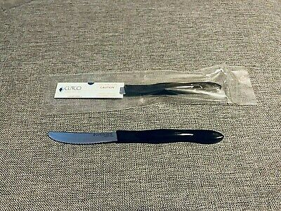 NEW ONE apart Cutco Steak Table Knife 1759 Black Sealed Unopened - SHIPS FREE