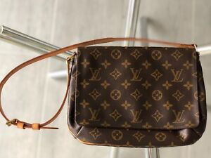 3a1b9c217193a Authentic LOUIS VUITTON Monogram Canvas Musette Salsa Bag ...