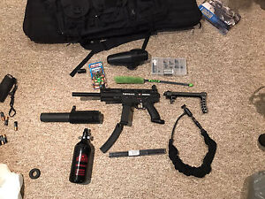 Tippmann X7 Phenom Full kit with mask and tank