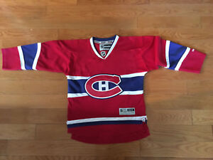 Montreal Canadiens Official Jersey - Youth size