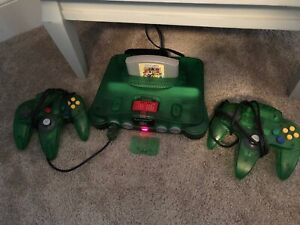 Jungle Green Nintendo 64 and Games (N64)