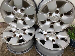 4 Rims  Toyota Hilux Regents Park Auburn Area Preview