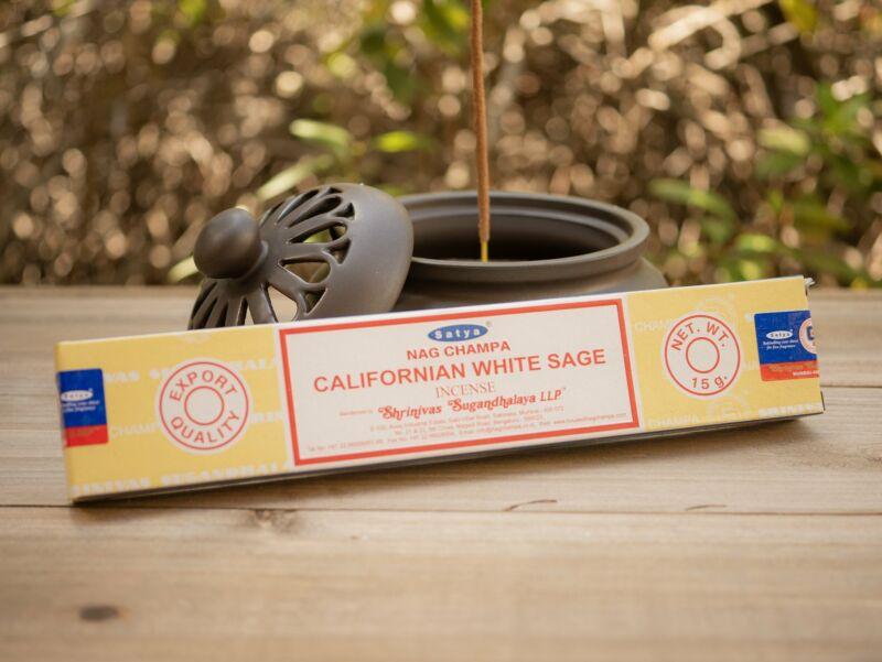 Satya California White Sage Nag Champa Incense Stick