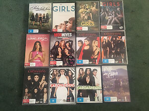 12 tv series dvds bulk Point Cook Wyndham Area Preview