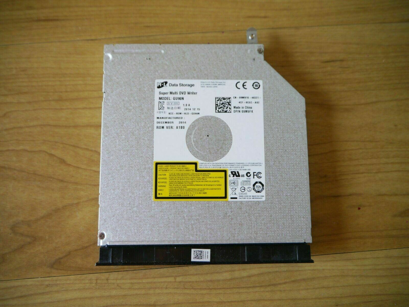 Dell Inspiron 3668 Desktop Genuine Super Multi DVD Burner Drive Gu90n 9m9fk