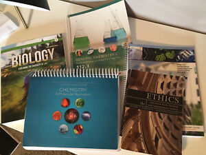 Textbooks - Biology, Chemistry and Ethics