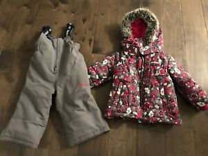 Osh kosh size 18 month snow suit