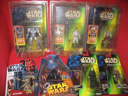 7 Unopened Star Wars figures. Springfield Lakes Ipswich City Preview