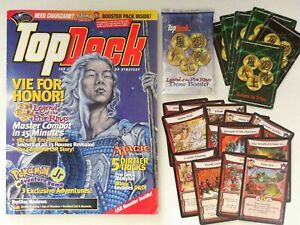 Vintage TopDeck WOTC Magazine & Demo Booster from 2000
