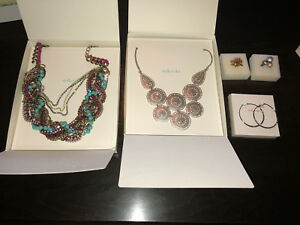 Lot Price - Stella and Dot Necklaces, Earrings, and Rings