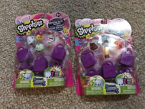 Unopened Shopkins packs