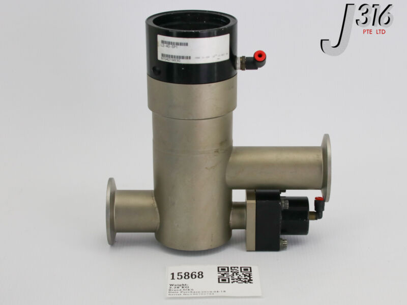15868 MKS VALVE,TWO STAGE INLINE,NW40 L2-40-SP1