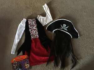 Girls pirate costume