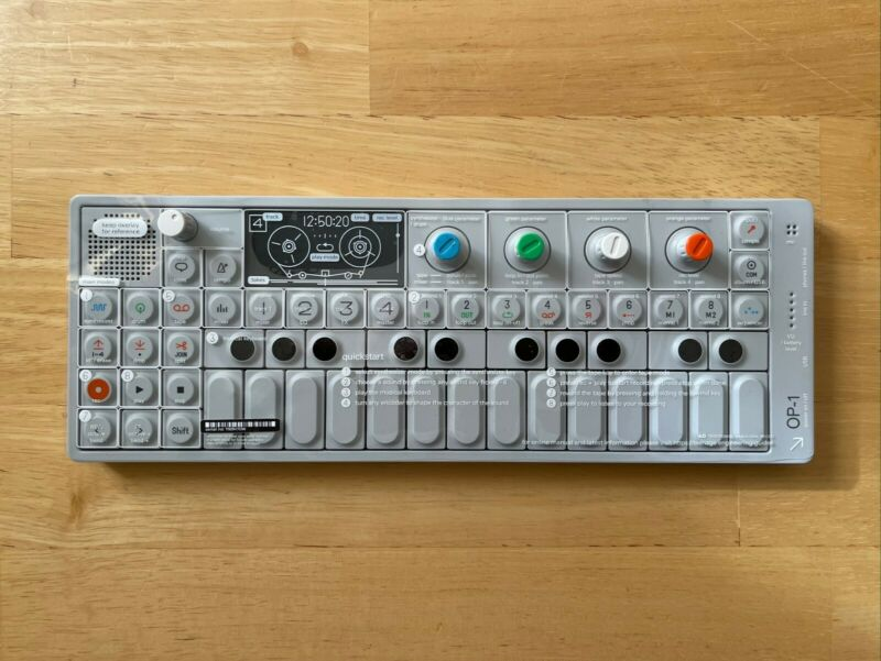 Teenage Engineering OP-1 Keyboard Synthesizer - Mint Condition, Barely Used