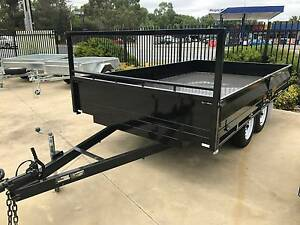 12x6 Heavy Duty Flat Top Tray Top Tandem Trailer Adelaide Region Preview