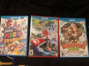 3 wii u games for $50