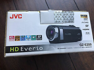 JVC camcorder like new