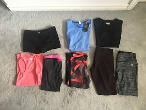 Athletic Shirts, Shorts and Leggings - Women's XS/S