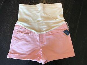 Pink Blush maternity shorts (NWT)