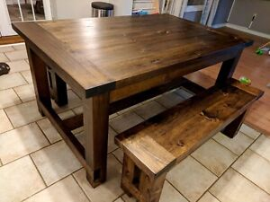 Custom Farmhouse Coffee Tables, dining tables, consoles