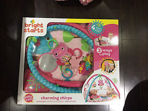 Almost New Bright Starts Charming Chirps Activity Gym