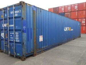45' High Cubes. LARGER Storage Containers. Shipping Containers