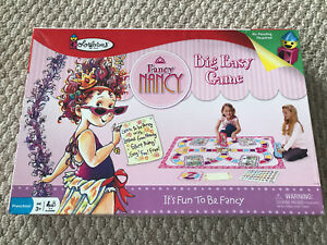 Fancy Nancy Big Easy Game - Like New with Unused Spare Pieces