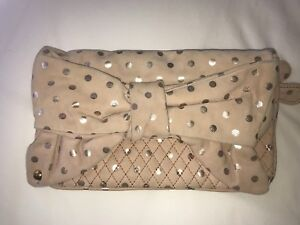 Pink Velour Juicy Couture Clutch